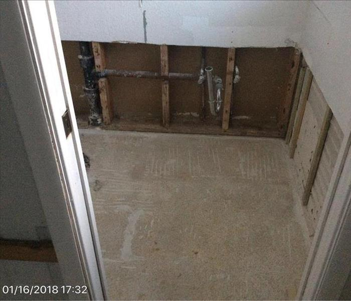 Broken Pipe in a Largo Condo Leads to Water Damage Before
