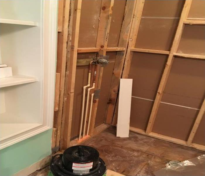 Bathroom Water Damage Repair In Largo Before