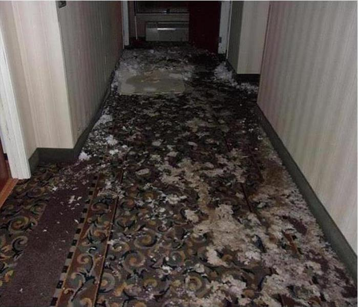 Largo Resident Living Facility and Water Damage Before