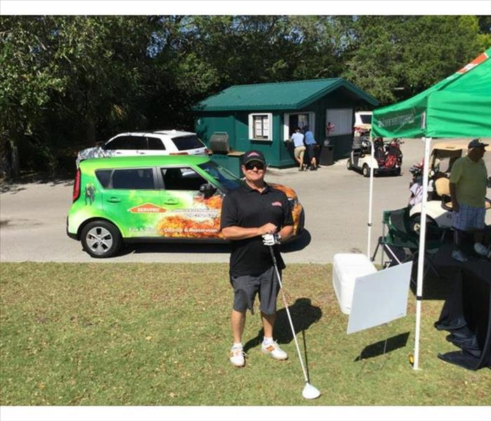 SERVPRO of Largo Supports the CAI Golf Tourney