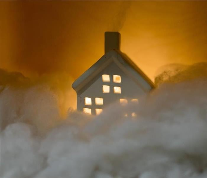 Fire Damage Fire Damage? SERVPRO is Here To Help & Respond Immediately!