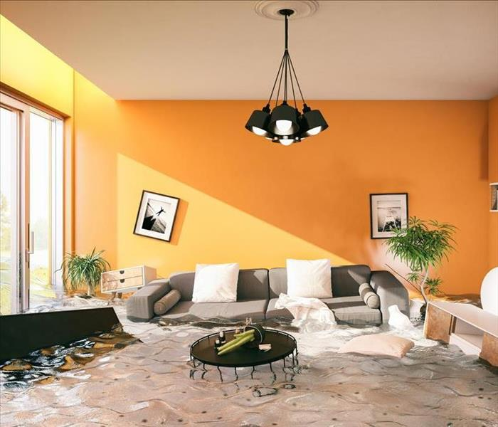 Water Damage SERVPRO Will Act Fast To Remove Standing Water In You Largo Home